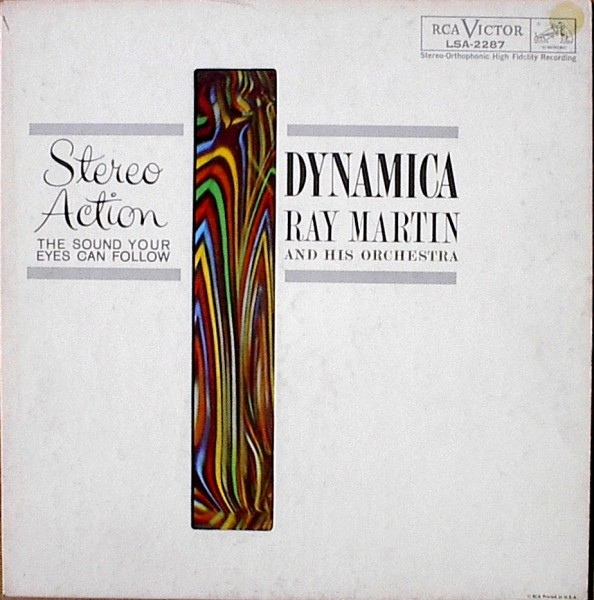 Ray Martin & His Orchestra, Dynamica cover